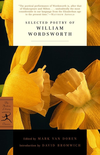 Mod Lib Selected Poetry William Wordsworth
