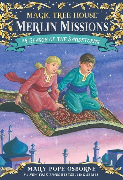 Magic Tree House Merlin Mission #6: Season of the Sandstorms