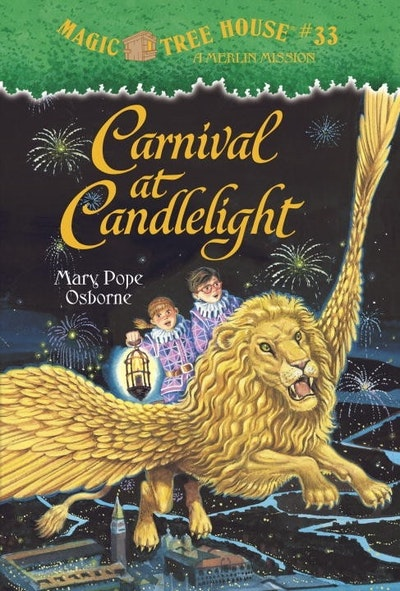 Magic Tree House #33 Carnival At Candlelight