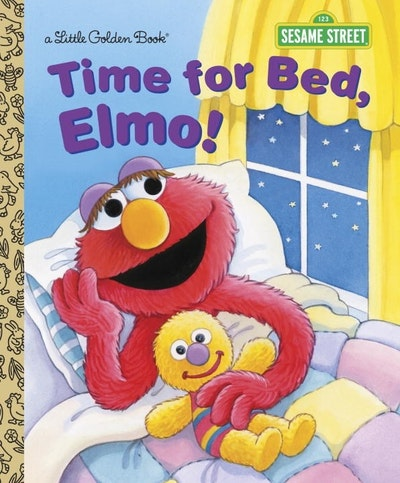 LGB Time For Bed, Elmo! (Sesame Street)