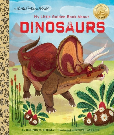 LGB My Little Golden Book About Dinosaurs