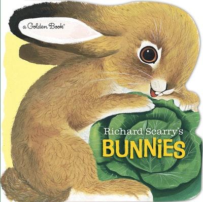 Richard Scarry's Bunnies Board Book