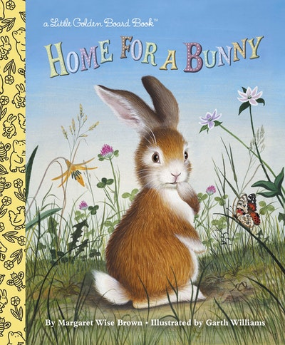Home For A Bunny Board Book