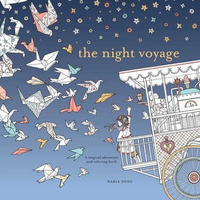 The Night Voyage:  Magical Adventure and Coloring Book