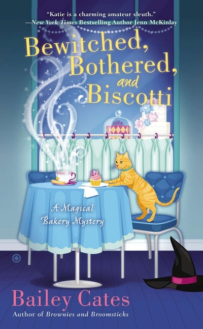 Bewitched, Bothered, and Biscotti: A Magical Bakery Mystery Book 2