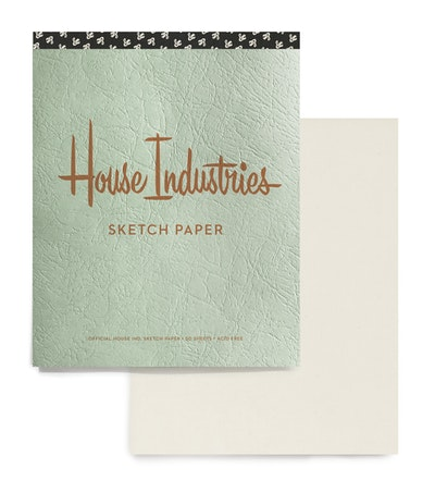 House Industries Drawing Pad