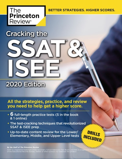 Cracking The Ssat & Isee, 2020 Edition