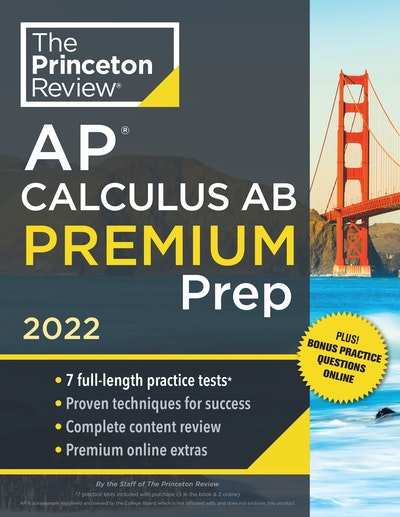 Princeton Review AP Calculus AB Premium Prep, 2022