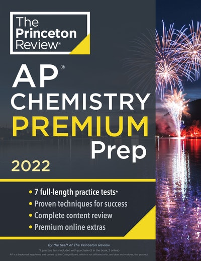 Princeton Review AP Chemistry Premium Prep, 2022