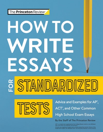How to Write Essays for Standardized Tests