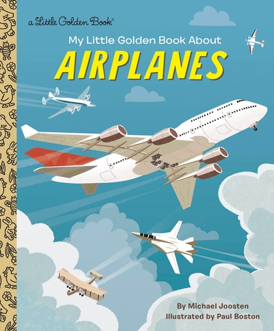 LGB My Little Golden Book About Airplanes
