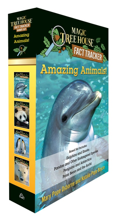 Amazing Animals! Magic Tree House Fact Tracker Boxed Set