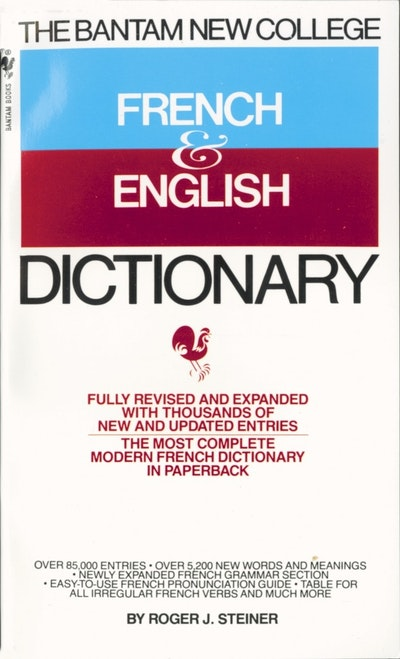 Bantam French/English Dictiony