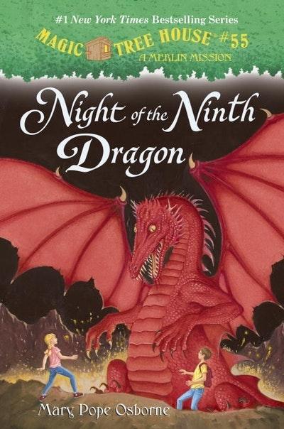 Magic Tree House #55 Night Of The Ninth Dragon