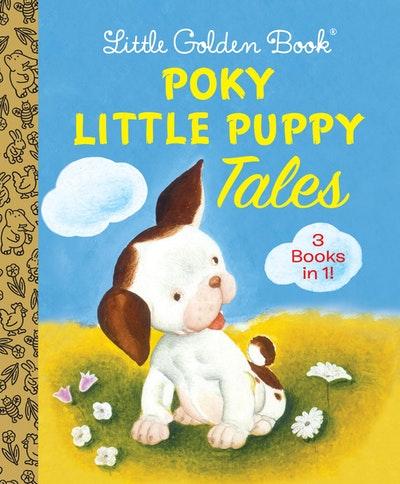 Little Golden Book Poky Little Puppy Tales 3 in 1