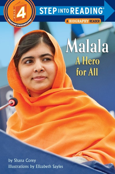 Malala A Hero For All Step into Reading Lvl 4