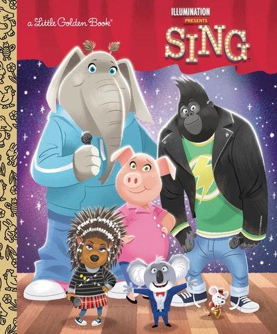 LGB Illumination's Sing Little Golden Book