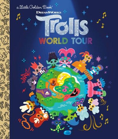 LGB Trolls World Tour Little Golden Book (DreamWorks Trolls World Tour)