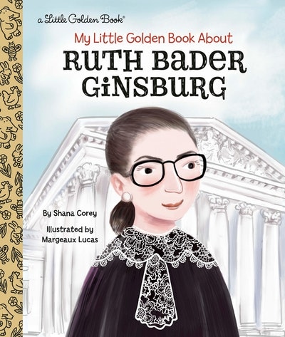 LGB My Little Golden Book About Ruth Bader Ginsburg