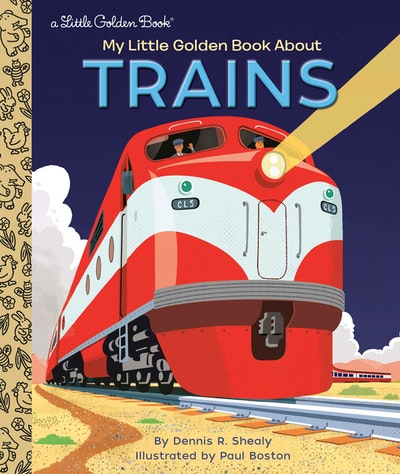 LGB My Little Golden Book About Trains