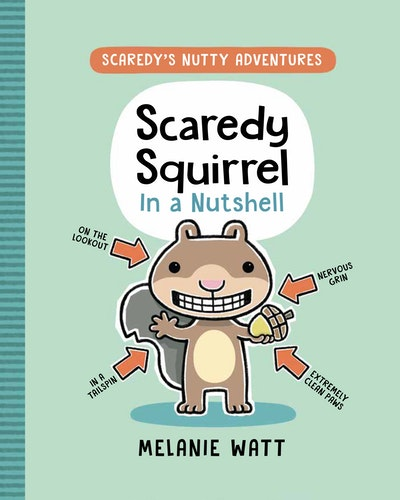 Scaredy Squirrell in a Nutshell