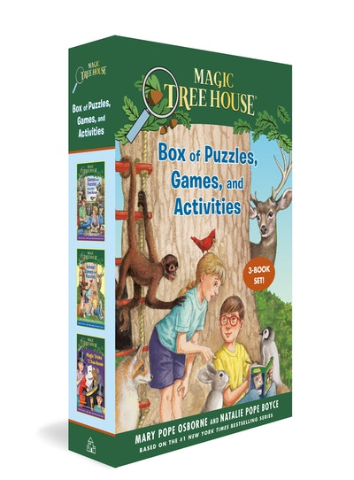 The Magic Tree House Box of Puzzles, Games, and Activities