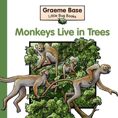 Little Bug Books: Monkeys Live in Trees