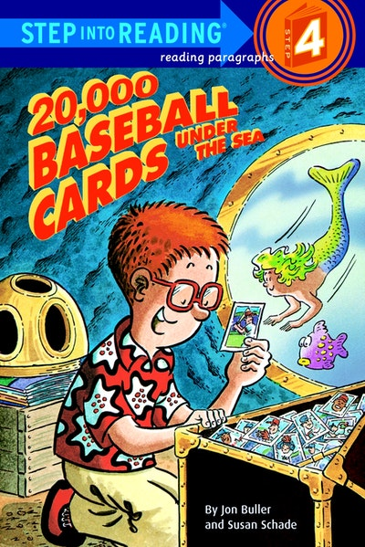 20,000 Baseball Cards Under The Sea Step Into Reading Lvl 4