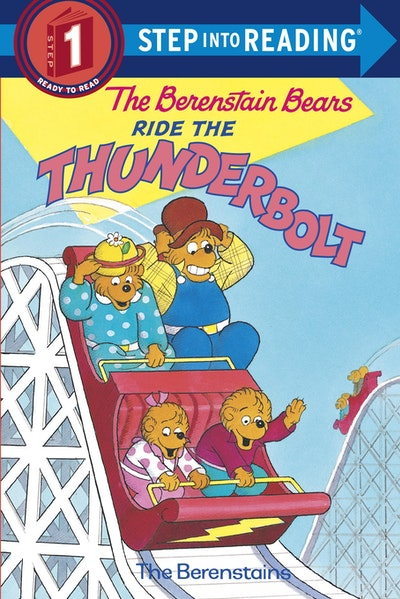 Berenstain Bears Ride The Thunderbolt Step Into Reading Lvl 1