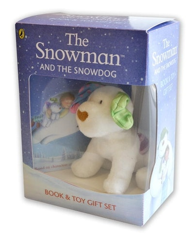 The Snowman And The Snowdog Book And Toy