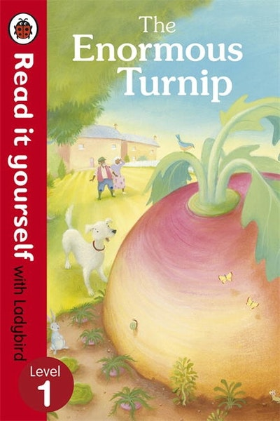 The Enormous Turnip- Read it Yourself with Ladybird Level 1
