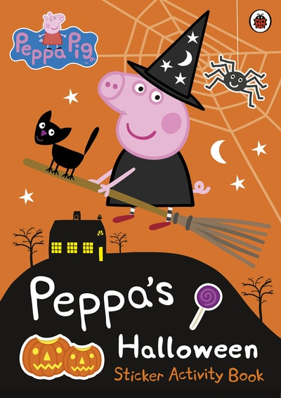 Peppa Pig: Peppa's Halloween: Sticker Activity Book