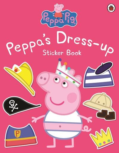 Peppa Pig: Peppa's Dress-Up Sticker Book