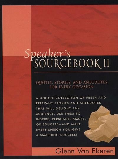 Speaker's Sourcebook II
