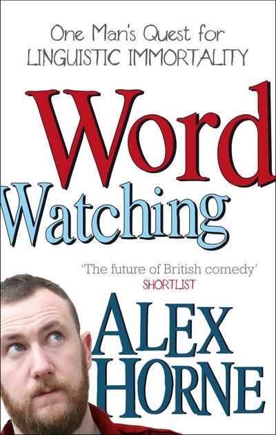 Modern Book Cover Quest : Wordwatching by alex horne penguin books australia