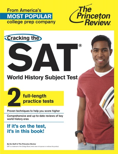 sat ii world history Note: the sat world history subject test is not part of the sat reasoning test, the popular college admissions exam sat world history subject test basics before you register for this test, here are the basics about the manner in which you'll be tested.