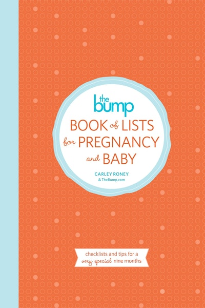 The Bump Book Of Baby Lists