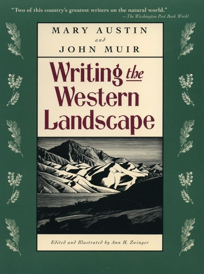 Writing The Western Landscape