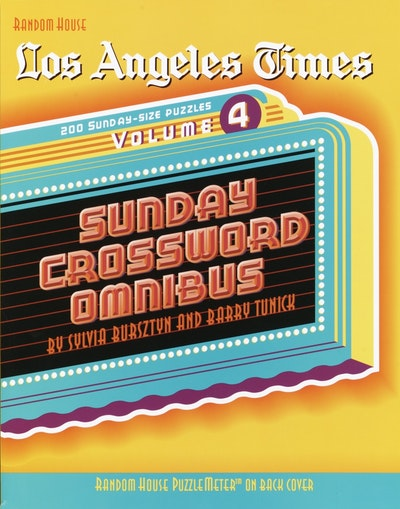 Lat Sun Crossword Omnibus Vol 04