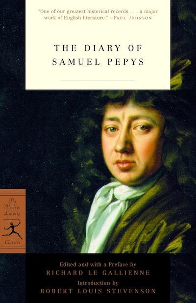 Mod Lib The Diary Of Samuel Pepys
