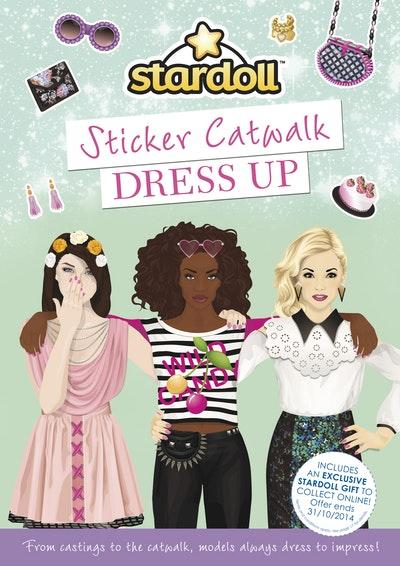 Stardoll: Sticker Catwalk Dress Up