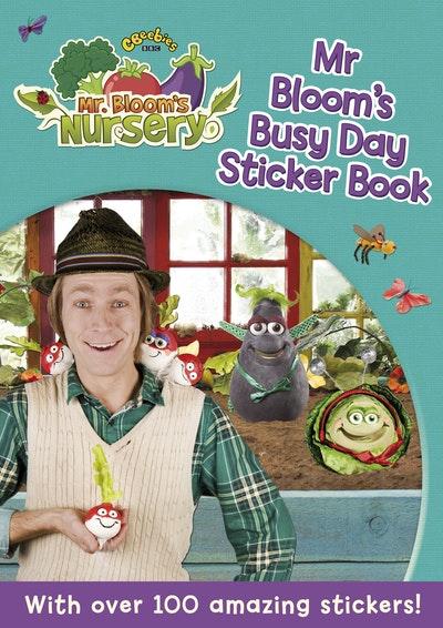 Mr Bloom's Nursery: Mr Bloom's Busy Day Sticker Book