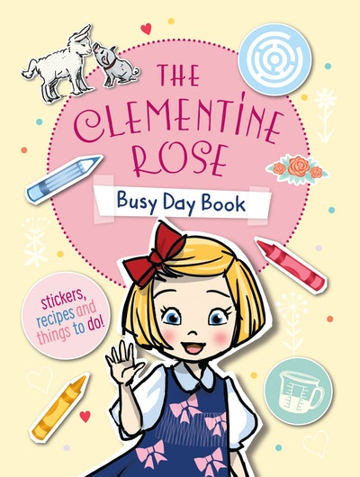 Clementine Rose Busy Day Book