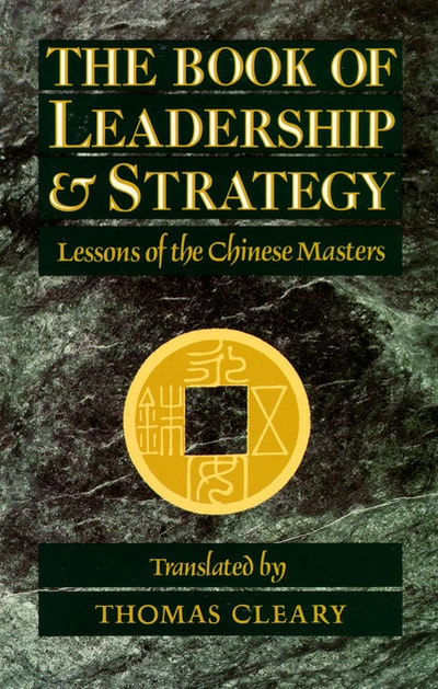 Book Of Leadership And Strategy