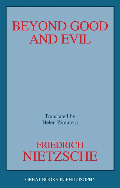 a focus on morality in nietzsches work beyond good and evil Explain and contrast nietzsches concepts of slave mortality- is good vs evil master morality-noble vs learn more about beyond good and evil with course hero.