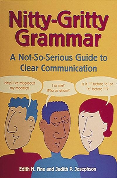 Nitty Gritty Grammar Book