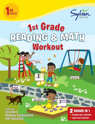 First Grade Reading Math Workout By Sylvan Learning Penguin