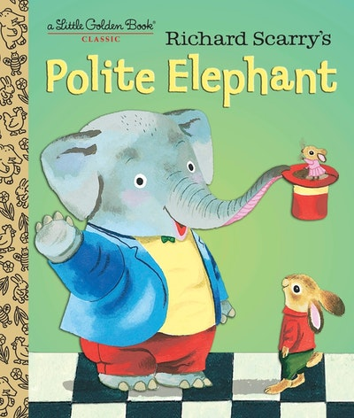 LGB Richard Scarry's Polite Elephant