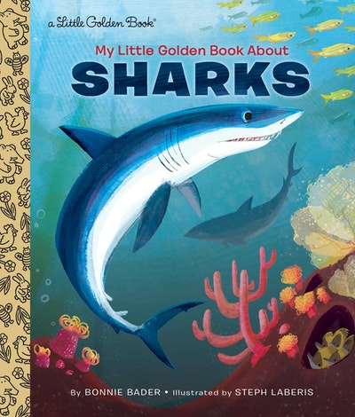 LGB My Little Golden Book About Sharks