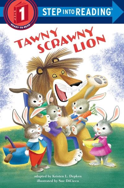Tawny Scrawny Lion Step Into Reading Lvl 1